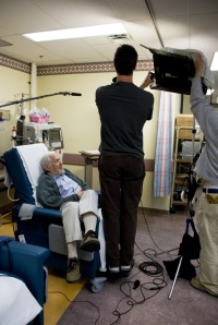 Shooting in the Dialysis Unit at Toronto General